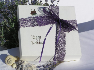 Whitstable Lavender Hand Made Gift Boxesgift Box Special Occasion